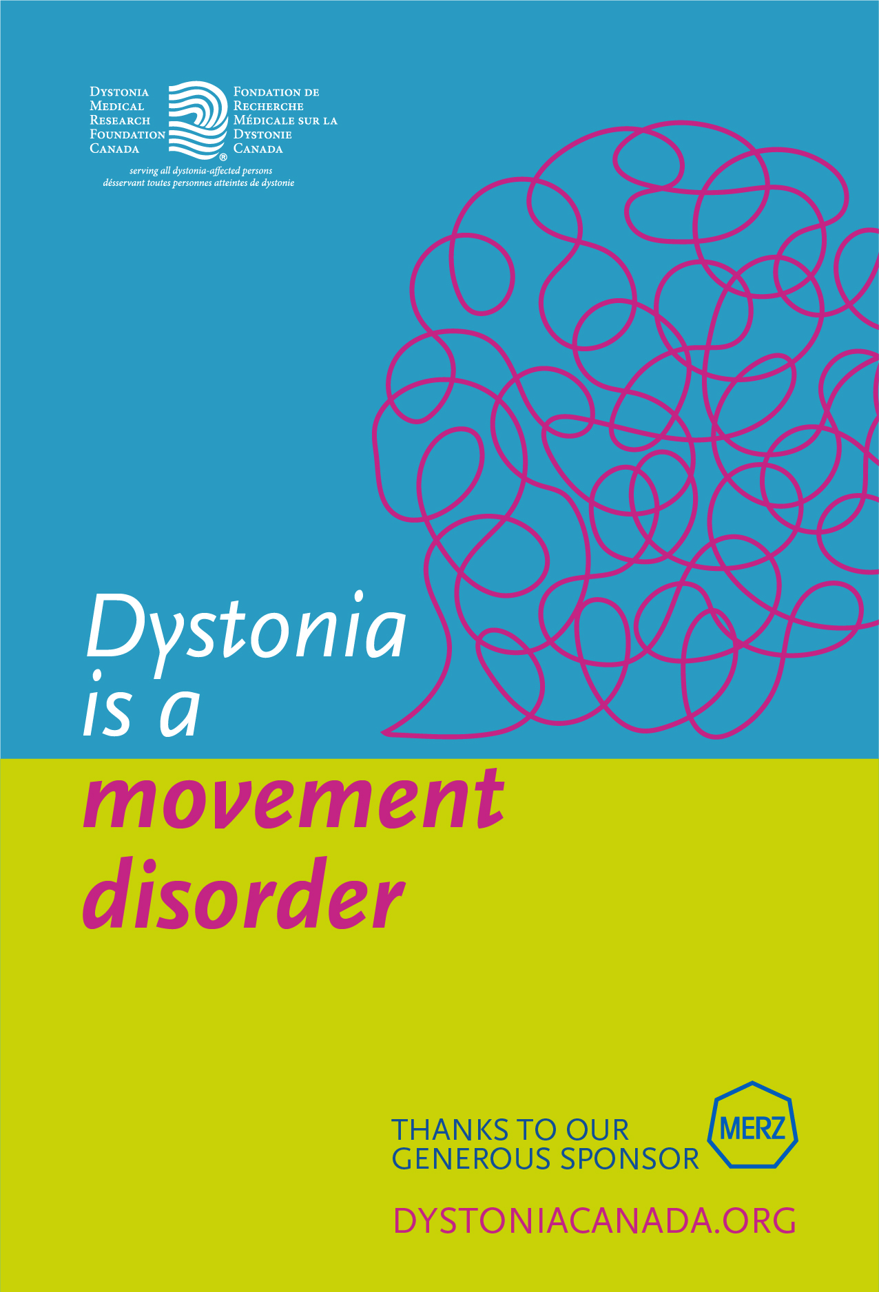 dystonia is a movement disorder poster