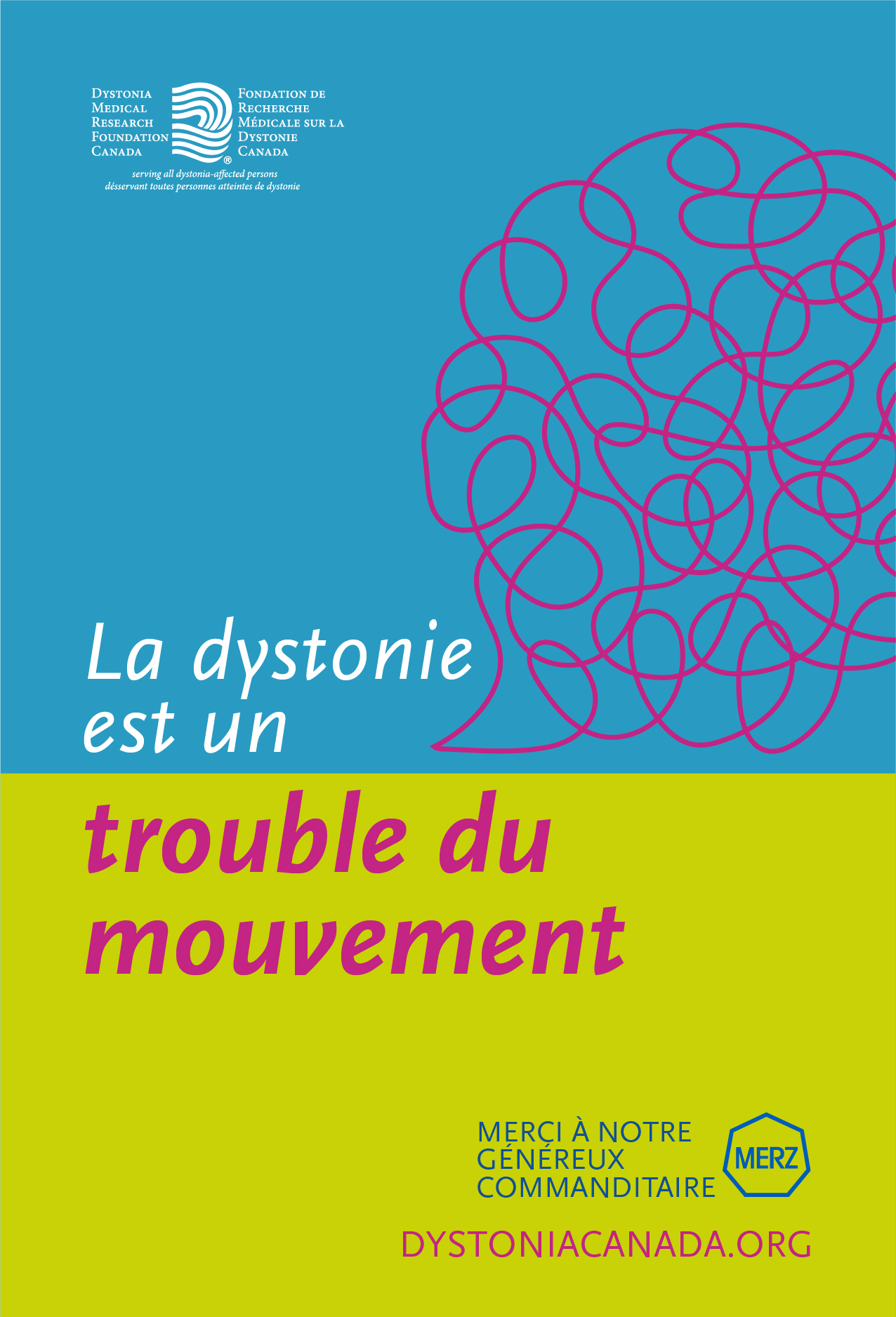 dystonia is a movement disorder