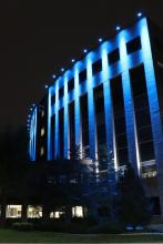 Lighting of Lethbridge City Hall